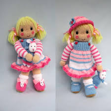 betsy and bunny doll knitting pattern knitting pattern by