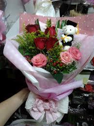Graduation Flowers Graduation Plush Hand Bouquet From Flower Ark Gallery Annie