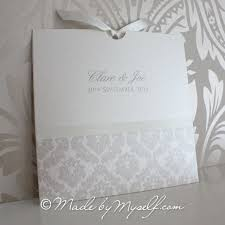 damask wedding invitations pocket style wedding invitation
