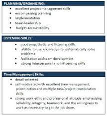 soft skills resume 9382