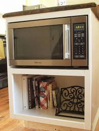 kitchen microwave ideas cabinet microwave rack modern kitchen furniture photos