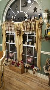 Country Primitive Home Decor Best 25 Country Curtains Ideas On Pinterest Country Kitchen