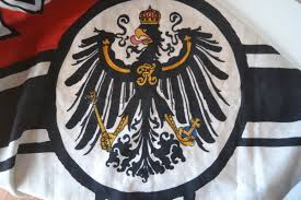 German War Flag Bandiere The Rare German Flag Of The Imperial Navy Used