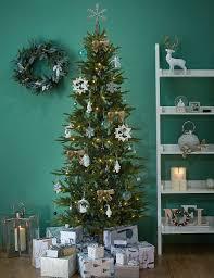 7ft lit slim christmas tree m u0026s