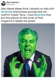 Sean Hannity Meme - i added the green know your meme