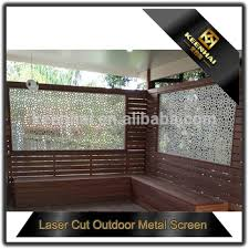 cut out metal screen aluminum balcony privacy fence screen buy