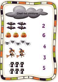 halloween activities for kids kiddo shelter kids worksheets