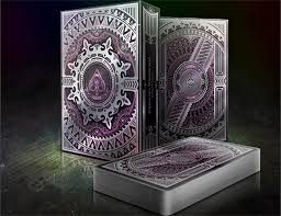 alloy amethyst cards special numbered edition deck purple