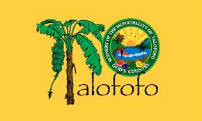 Guam Flag Talofofo Village Flag Municipality In The Us Territory Of Guam