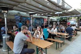 German Beer Garden Table by Der Biergarten