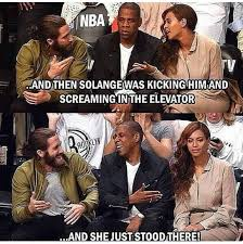 Jay Z Beyonce Meme - the best solange vs jay z memes memes pinterest memes and
