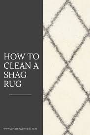 How To Clean Shag Rug At Home With Nikki Spring Cleaning Tip How To Clean A Shag Rug
