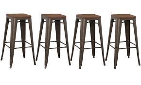 bar stools yellow metal bar stools industrial counter copper