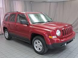 jeep patriot 2017 red 2016 used jeep patriot fwd 4dr sport at north coast auto mall