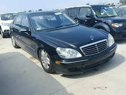 2003 mercedes s500 for sale wdbng75jx3a365357 2003 black mercedes s500 on sale in tx