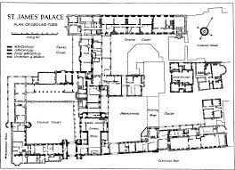 st james u0027s palace westminster ground floor plan blueprints