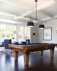 light over pool table game room ideas contemporary media room jackson paige interiors
