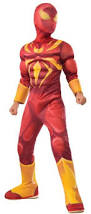 Iron Patriot Halloween Costume Kids Deluxe Iron Spider Costume Costume Craze