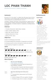 Resume Template Odt Key Account Manager Resume Samples Visualcv Resume Samples Database