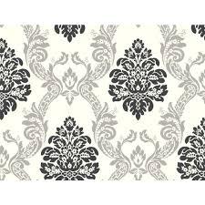york wallcoverings home design york wallcoverings ab2027 black and white damask wallpaper cream