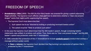 Is Flag Burning Protected By The First Amendment Chapter 5 The Bill Of Rights And Civil Liberties Ppt Video
