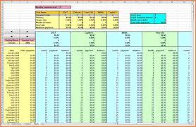 debt payoff planner spreadsheet laobingkaisuo com