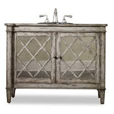 Distressed Bathroom Vanity by Amazing Bathroom Vanities With Mirror Cabinet Using White Paint
