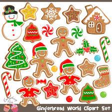 cliparts holiday cliparts christmas cliparts gingerbread man
