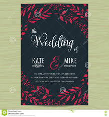 Free Wedding Invitation Card Template Floral Postcard Background Template For Wedding Invitation Card
