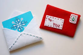 make gift cards make this for the holidays festive felt gift card envelope diy