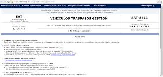 pago de impuesto vehicular en linea formulario sat 8611 png