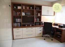 Hidden Home Office Desk by Contemporary Fitted Study Bedrooms From Strachan