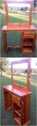 Seating Out Of Pallets by Best 25 Pallet Vanity Ideas On Pinterest Wood Pallets Pallet