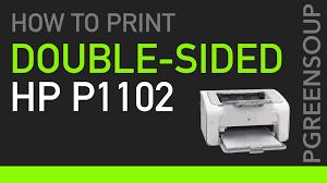 laserjet 4050n manual duplex printing on hp laser jet p1102 youtube