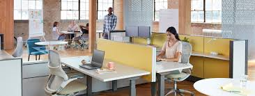 open plan office layout definition workstations design and planning knoll