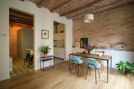 1 Room Apartment Design A Bright And Airy Cosmopolitan Apartment In Barcelona