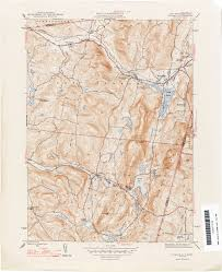 New York Map Us New York Topographic Maps Perry Castañeda Map Collection Ut