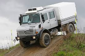 mercedes 4x4 trucks unimog u 4000 all terrain truck geeky tech