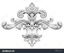601 best ornaments scrolls and ancanthus leaves images on