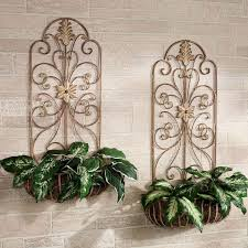 Wall Plant Holders Best 25 Metal Wall Planters Ideas On Pinterest Outdoor Wall