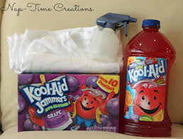 spray paint t shirt with kool aid juice drink life sew savory