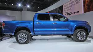 nissan tacoma 2016 toyota tacoma revealed at the detroit auto show autoweek
