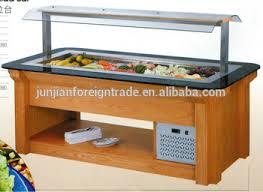 fridge display salad bar buffet salad bar cooler guangzhou
