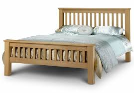 Oak Bed Frame Julian Bowen Amsterdam Oak Shaker Style Bed Frames