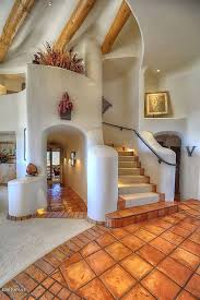 pueblo style house plans pueblo style staircase in scottsdale az designed by award winning