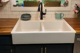 how to install an apron sink in an existing cabinet worth the splurge all about the pros and cons of farmhouse