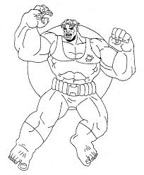 amazing power hulk coloring netart