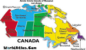 canadian map with time zones current dates and times in canada map