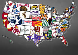 Sioux Falls Zip Code Map by The Best College Football Team In Each Us State Maps Pinterest