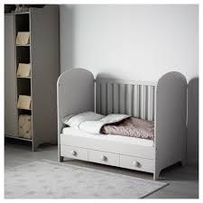Gonatt Cot Light Grey 60x120 Cm Ikea